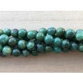 8mm grønne jade perler