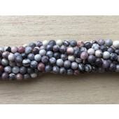 4mm porcelæns jaspis perler