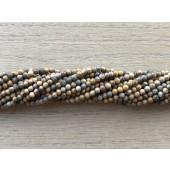 2mm leopard jaspis perler