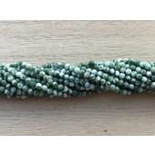 2mm grønne perler