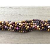 3mm matte moukite perler
