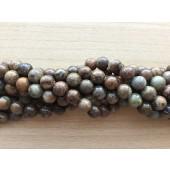12mm slangeskinds jaspis perler