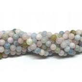 6mm perler af morganit
