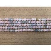 4mm morganit perler