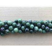 10mm rubin zoisit perler