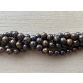 8mm bronzite perler