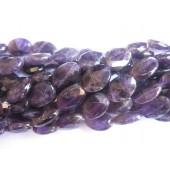 ametyst ovale perler