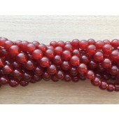 10mm rød agat perler