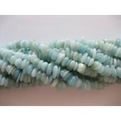 Amazonit skive perler