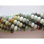 multifarvet amazonit perler
