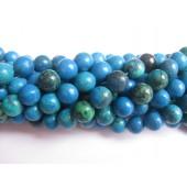 blå-grøn gul turkis perler