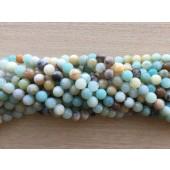8mm amazonit perler