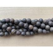 matte bronzite perler
