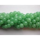10mm lys grøn jade perler