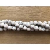 10mm hvide howlite perler