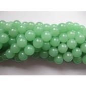 12mm lys grønne jade perler