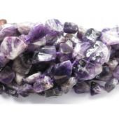 store ametyst perler