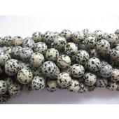 Dalmantiner jaspis, rund 14mm-20