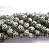 14mm dalmatiner jaspis perler
