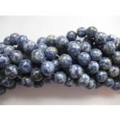 blå plettet jaspis 14mm