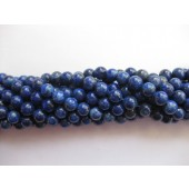 lapis lazuli 6mm perler