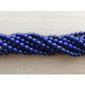 6mm lapis lazuli perler