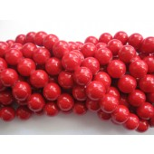 12mm røde perler