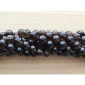 brune facet perler