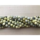 10mm gul turkis perler