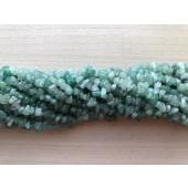 grøn aventurin chips perler