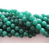 12mm farvet jade perler