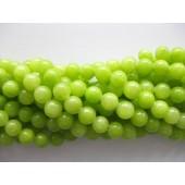 8mm lys grøn jade