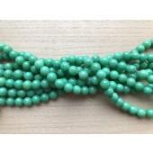8mm æble grønne perler