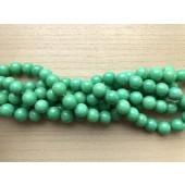 12mm æble grønne perler