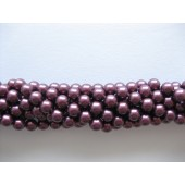 Shell pearl, bordeaux-lilla 6mm-20