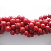Shell pearl, rød 10mm-20