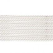 hvid silkesnor 0,65mm