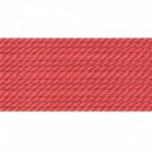 koral farvet silkesnor 0,75mm