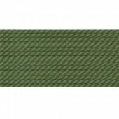 oliven farvet silkesnor 0,75mm