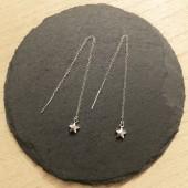 kædeøreringe med stjerner