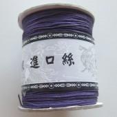 0,8mm nylon knyttesnor, lilla-20