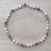 armbånd små perler
