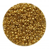guld miyuki perler