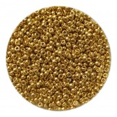 miyuki seed beads light gold