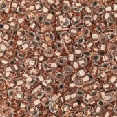 Miyuki Rocailles seed beads, 15/0 Copper lined crystal (197) 2g-20