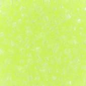 Miyuki delicas 11/0 luminous lime aid