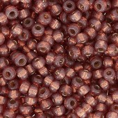 miyuki seed beads rose bronze