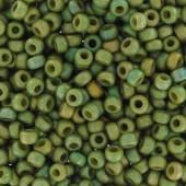 miyuki seed beads 11/0 luster olivine