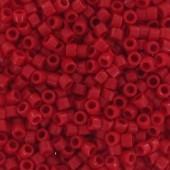 Miyuki delicas opaque red