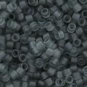 miyuki delicas transparent grey mat